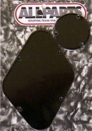 Allparts PG-0814-023 Les Paul Style Rear Cover Set - Black