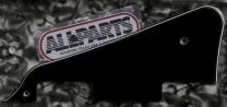 Allparts PG-0800-033 Les Paul Style Pickguard - Black (B/W/B)