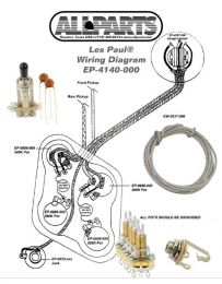 Allparts EP-4140-000 Wiring Kit for Les Paul