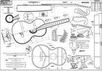 Austro-German Martin Acoustic Guitar Plan