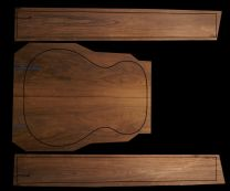 Brazilian Rosewood Back & Sides Set #4 - Small Acoustic/Classical