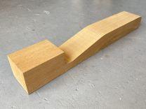 Honduran Mahogany 1-Piece Acoustic Neck Blank #BM101- 1st Grade OM/000 Size