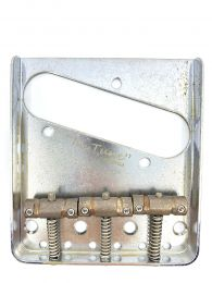 Gotoh BS-TC1 Vintage Tele Style In-Tune Bridge - Relic Chrome