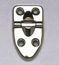 Allparts CP-9930-010 Case Hinges - Set of 3