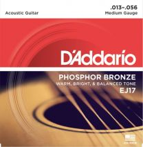 D'Addario EJ17 Acoustic Guitar Strings 13-56 Medium