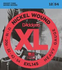 D'Addario EXL145 Electric Guitar Strings 12-54 Heavy