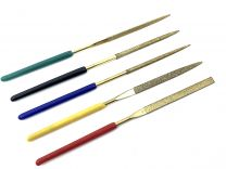 Diamond Mini Needle Files - Set of 5