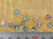 Dot Inlays - Set of 12 - Paua Abalone 6mm