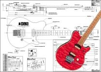 Ernie Ball Van Halen® Style Electric Guitar Plan