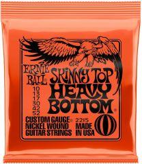 Ernie Ball 2215 Electric Guitar Strings 10-52 Skinny Top Heavy Bottom Slinky