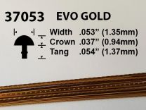Evo Gold Fretwire #37053 - Small Narrow Gauge - 1.8 metres