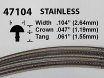 Stainless Steel Fretwire #47104 - Jumbo Gauge - 1.8 metres