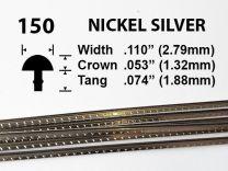 Nickel Silver Fretwire #150 - Large Jumbo Gauge - 1.8 metres