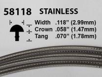 Stainless Steel Fretwire #58118 - Super Jumbo Gauge - 1.8 metres