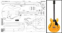 Gibson EB-2 Plan - 335-Style Bass