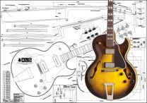 Gibson ES-175 Hollowbody Electric Guitar Plan