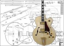 Gibson L5 CES Hollowbody Electric Guitar Plan
