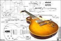 Les Paul '59 Electric Guitar Plan