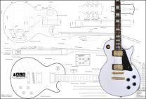 Les Paul Custom Electric Guitar Plan
