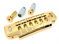 Gotoh 510UBG Wraparound Tail Piece - Gold