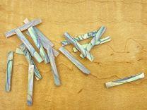 Inlay Strips - Set of 16 - Paua Abalone 3.2mm Straight