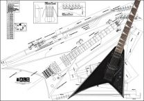 Jackson Randy Rhoads Model Electric Guitar Plan