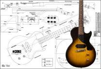 Les Paul Junior Electric Guitar Plan