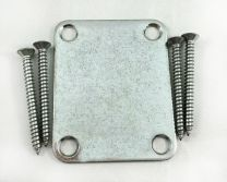 Gotoh NBS-3RLC Neck Plate with Screws - Relic Chrome