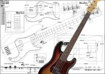 5-String Precision-Style Bass Plan