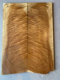 Queensland Maple Electric Guitar Drop Top #28 - Highly Figured 13mm Thick