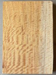 Queensland Maple Silkwood Electric Guitar Body Blank #216 - 1-Piece Figured - 2nd Grade