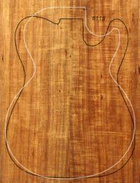 Queensland Blackwood Electric Guitar Drop Top #118 - Well Figured