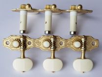 Rubner S140-EBI Classical Guitar Tuners with Ball-Bearings & Ivoroid Buttons