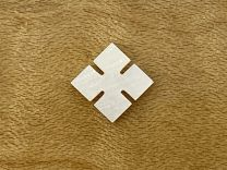 Slotted Square Inlay - Mother of Pearl