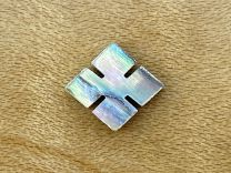 Slotted Square Inlay - Paua Abalone