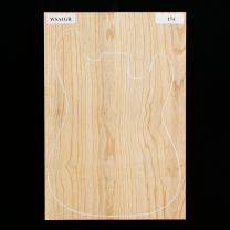 American Swamp Ash Electric Guitar Body Blank #174 - 2-Piece - First Grade