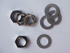 Nuts & Washers for Metric Pots - Set of 4