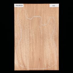 African Mahogany Electric Guitar Body Blank #032 - 3-Piece