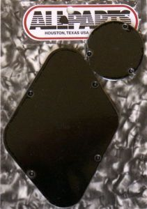 Allparts PG-0814-023 Les Paul Style Rear Cover Set - Black