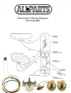 Allparts EP-4131-000 4-Way Wiring Kit for Telecaster