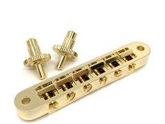 Allparts GB-0541-002 Nashville Tunematic Bridge - Gold