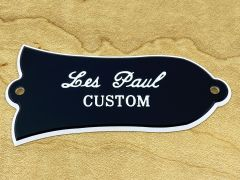 Bell Shaped Truss Rod Cover - 'Les Paul Custom'