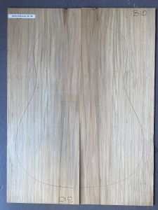 Bunya Pine Acoustic Guitar Top #105 - First Grade