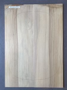 Bunya Pine Acoustic Guitar Top #108 - First Grade