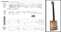 6-String Electric Cigar Box Guitar Plan