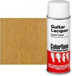 ColorTone 50s Classic Colors Aerosol Guitar Lacquer - Aged Clear #5887