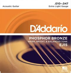D'Addario EJ15 Acoustic Guitar Strings 10-47 Extra Light