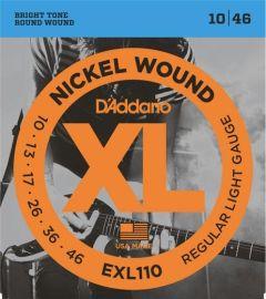 D'Addario EXL110 Electric Guitar Strings 10-46 Light