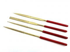 Diamond Needle Files - Set of 4