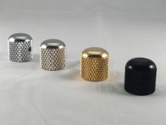 Tele Style Dome Knobs for Solid Shaft Pots